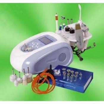Комбиниран уред 9 в 1 - диамантено микродермабразио, накрайник за премахване на петна, дарсонвал, ултразвук, ултразвукова шпатула, вакуум  - спрей, четков пилинг  и йонофореза
