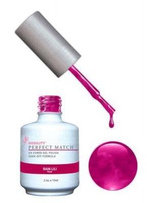 Комплект Perfect Match (Гел лак 15ml + лак за нокти 15ml) цвят RAIN LILI