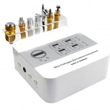 Комбиниран уред за радиочестотен лифтинг, криотерапия, дермабразио, кислороден спрей