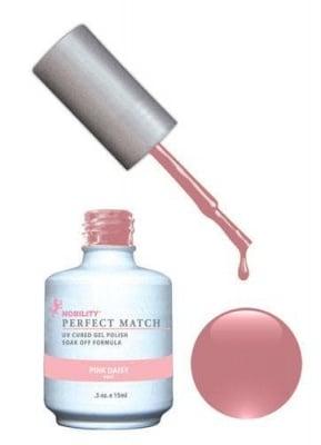 Комплект Perfect Match (Гел лак 15ml + лак за нокти 15ml) цвят PINK DAISY