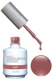 Комплект Perfect Match (Гел лак 15ml + лак за нокти 15ml) цвят FLIRTINI