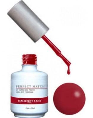 Комплект Perfect Match (Гел лак 15ml + лак за нокти 15ml) цвят SEALED WITH A KISS