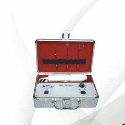 Козметичен портативен уред за високочестотна електротерапия
