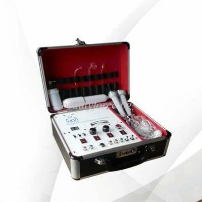 Комбиниран уред 5 в 1 - Високочестотна функция, Ултразвук, Вакуум, Спрей и Галваник