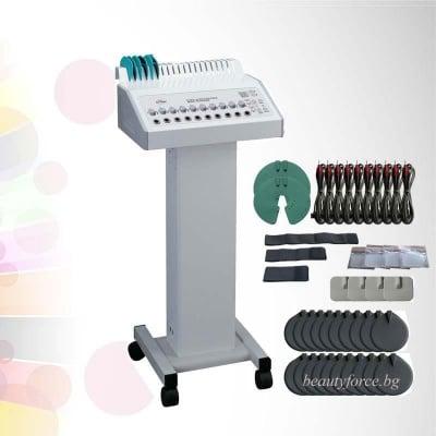 Професионален уред за отслабване, стягане и оформяне на тялото чрез EMS стимулация