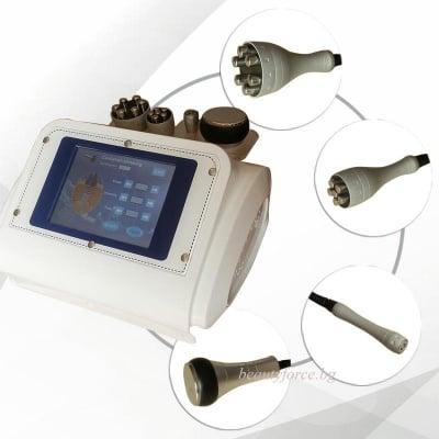 Козметичен уред за ултразвукова кавитация и RF система с цветен touch screen