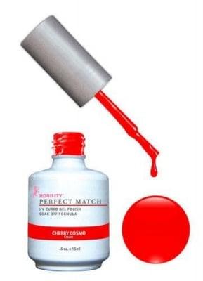 Комплект Perfect Match (Гел лак 15ml + лак за нокти 15ml) цвят CHERRY COSMO