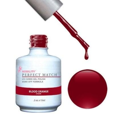 Комплект Perfect Match (Гел лак 15ml + лак за нокти 15ml) цвят BLOOD ORANGE