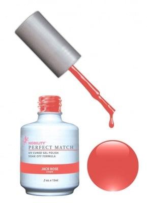 Комплект Perfect Match (Гел лак 15ml + лак за нокти 15ml) цвят JACK ROSE