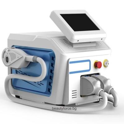Уред за фотоепилация с интензивна пулсова светлина IPL+SHR+RF