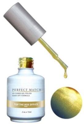 Комплект Perfect Match (Гел лак 15ml + лак за нокти 15ml) цвят TOP THE BOX OFFICE