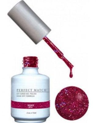 Комплект Perfect Match (Гел лак 15ml + лак за нокти 15ml) цвят XOXO