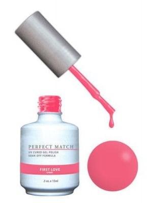 Комплект Perfect Match (Гел лак 15ml + лак за нокти 15ml) цвят FIRST LOVE
