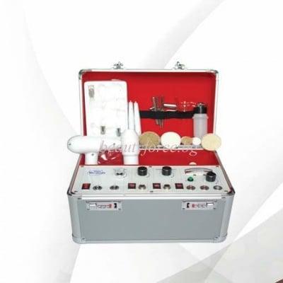 Комбиниран уред 5 в 1 - Високочестотна функция, Галваник, Вакуум, Спрей и Ротационна четка