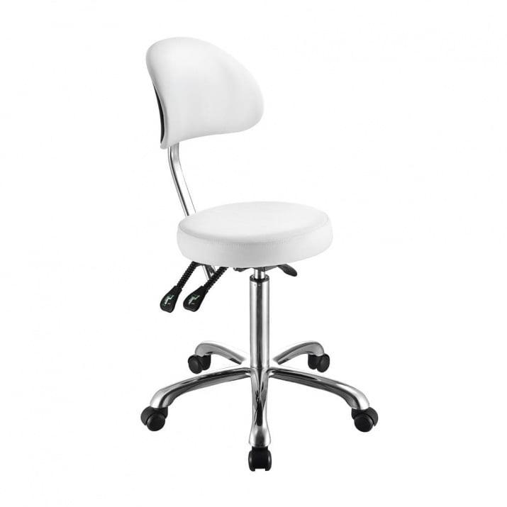 Round-shaped flat stool with b