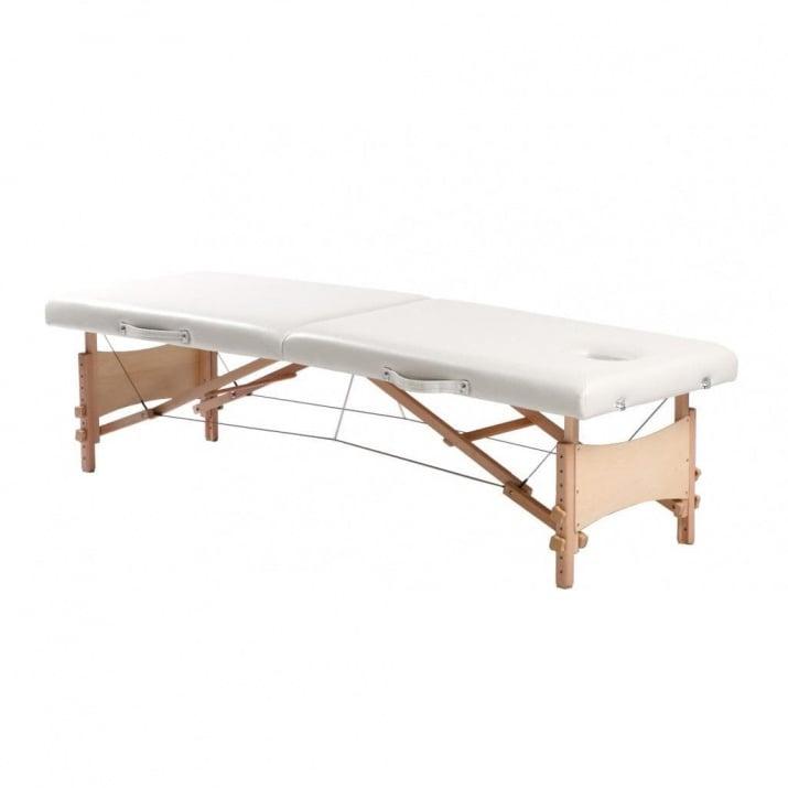 Портативно дървено масажно лег